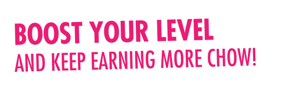 Boost Your Level and Keep Earning More Chow